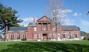 Interior Thayer Memorial Library